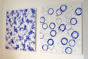 acrylic on canvas - 150 X 140 cm each - 2012 -  A Kuryszczuk